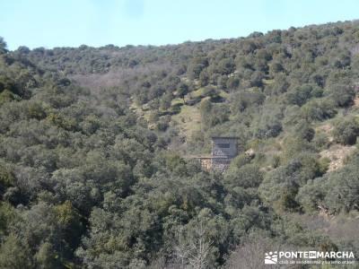 Azud del Mesto - Cascada del Hervidero;mochila trekking mochila senderismo ruta senderismo madrid